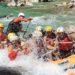 Niesamowity rafting na rzece Socza w Słowenii!